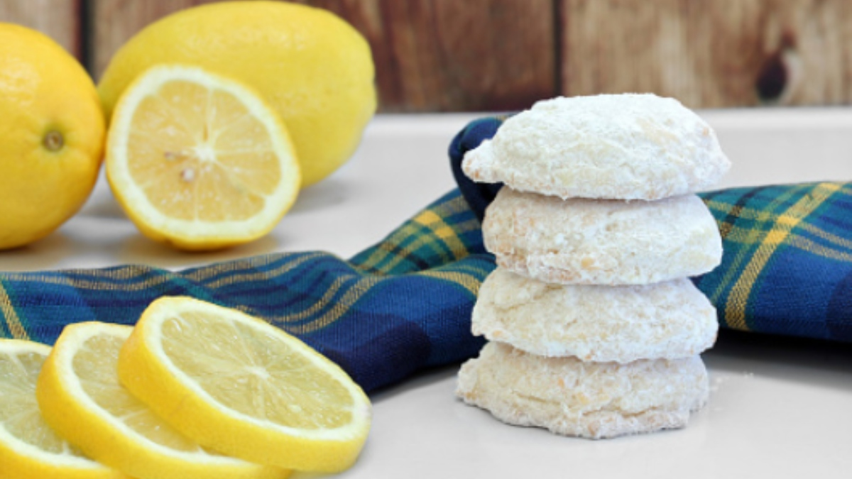 Las 5 mejores recetas de galletas de limón para acompañar el té