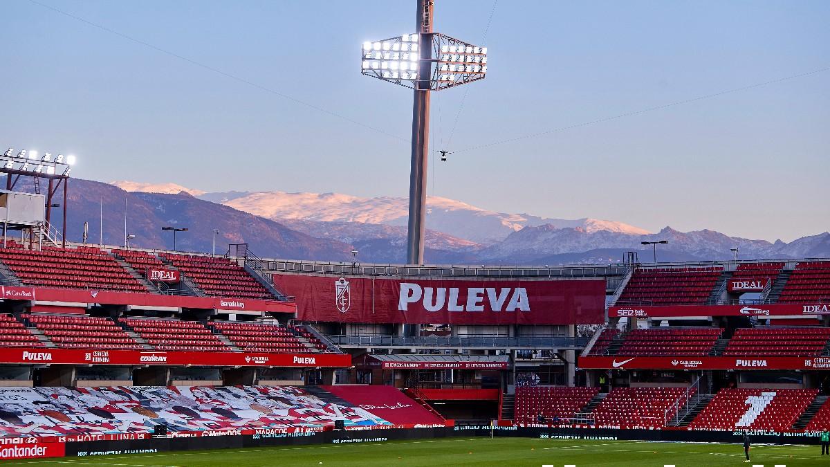 El estadio de Los Cármenes.