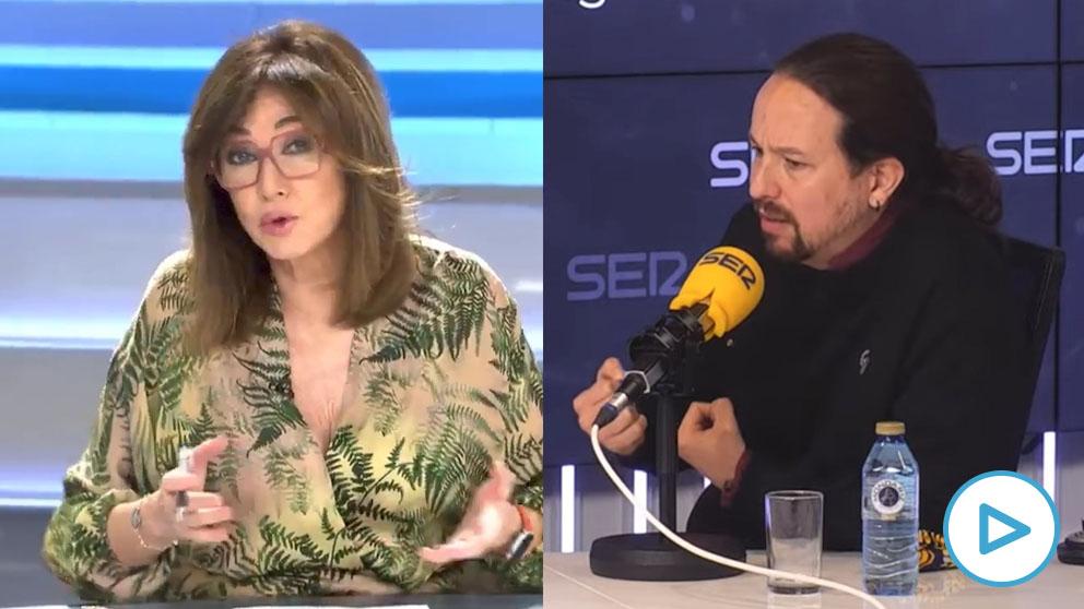 Iglesias también quiere amordazar a Ana Rosa y la presentadora le responde: «¡Usted es un fascista!»