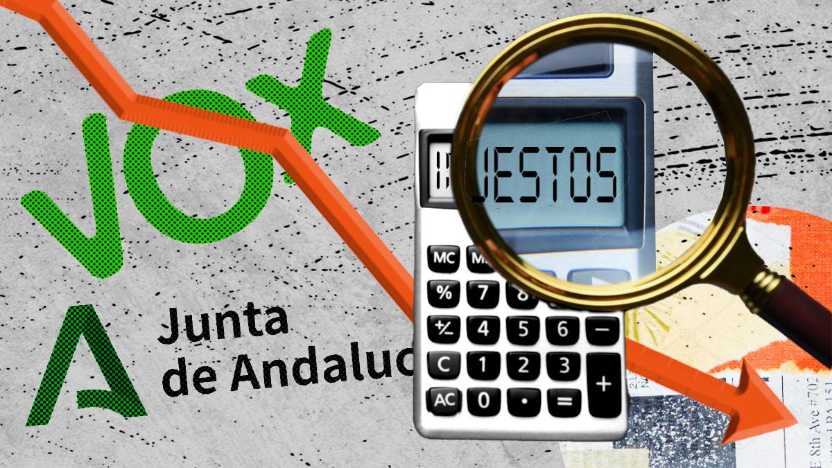 La Junta de Andalucía acuerda con Vox una inminente bajada general de impuestos.