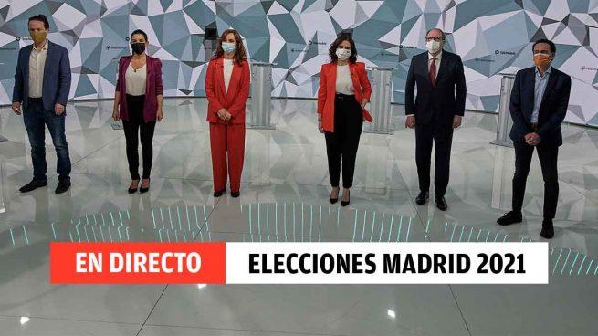 Elecciones a la Comunidad de Madrid, en directo: última hora de los candidatos Ayuso, Gabilondo, Iglesias, García, Monasterio y Bal al 4M