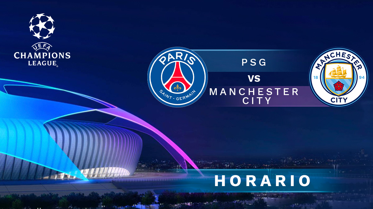 PSG- Manchester City: ida de las semifinales de la Champions League.