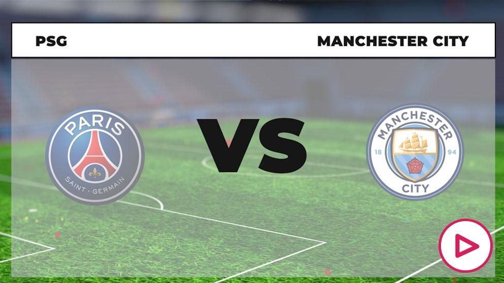 Horario y dónde ver el PSG – Manchester City.