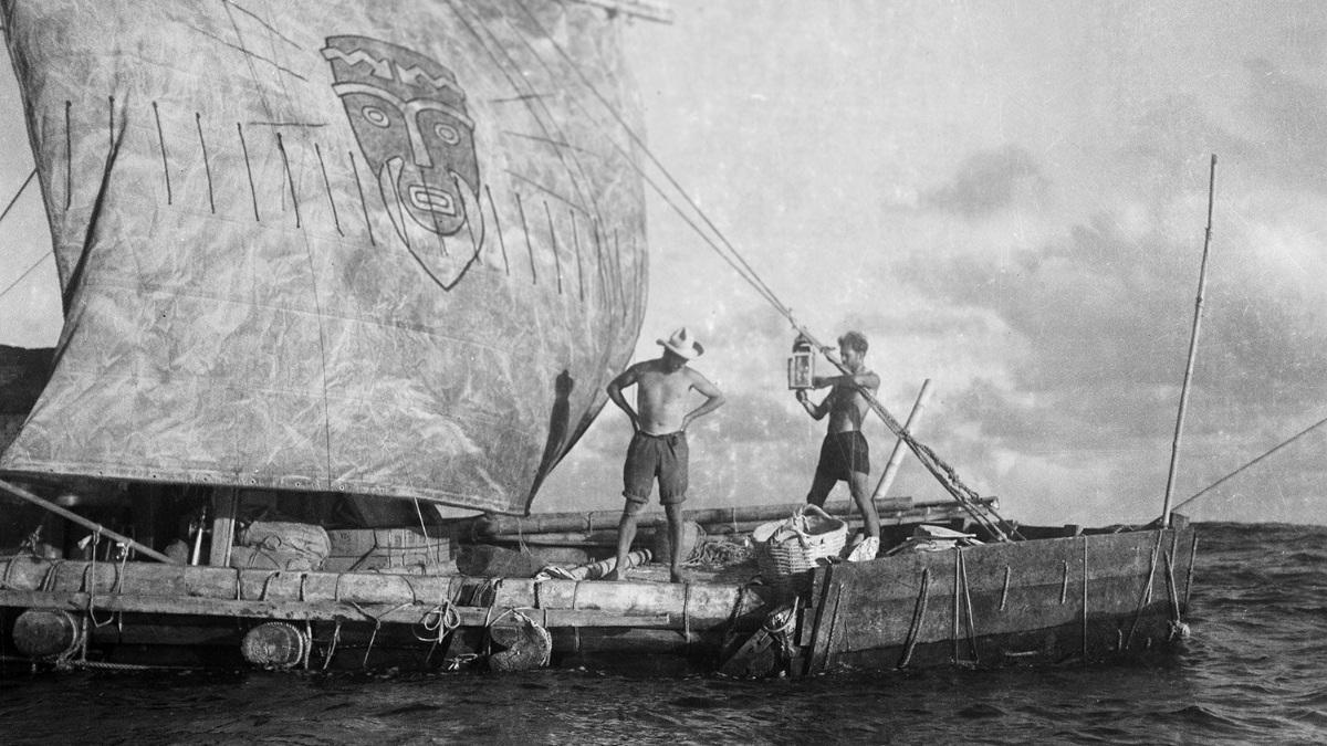 La expedición Kon-Tiki