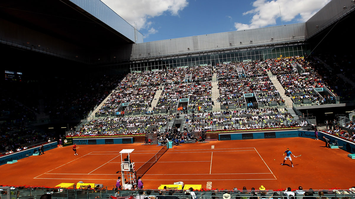 La Caja Mágica, donde se va a disputar el Mutua Madrid Open (Getty)