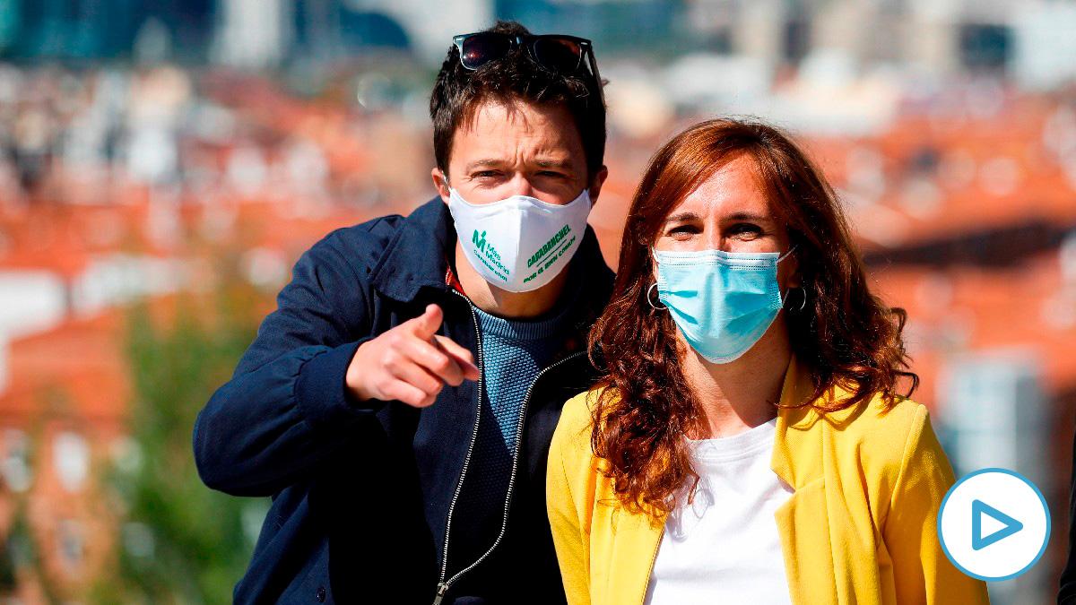 Íñigo Errejón y Mónica García. (Foto: Efe)