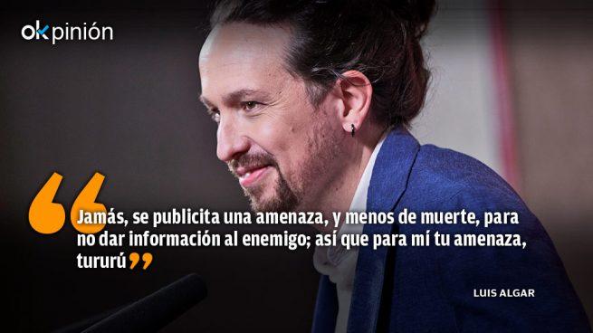 Pablo Iglesias, asesino de las libertades