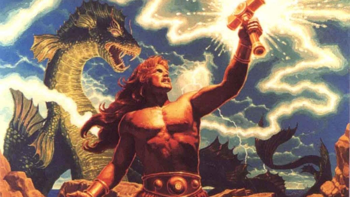 Thor, el dios nórdico de la guerra