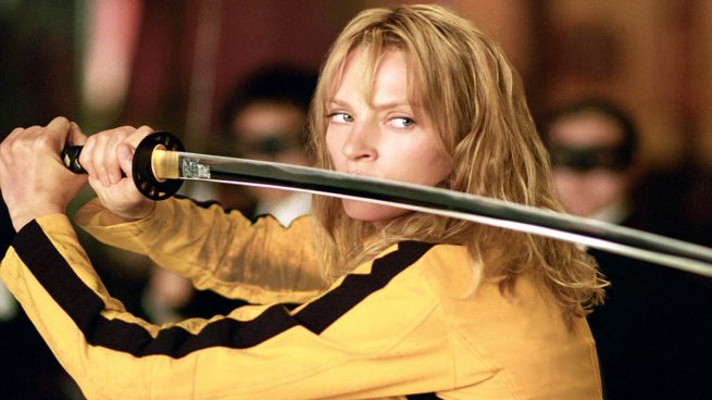 Uma Thurman en Kill Bill 1 (Miramax)