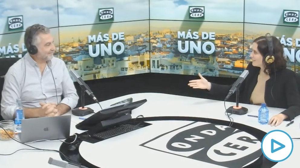 Isabel Díaz Ayuso: «Madrid es tan grande que puedes vivir sin encontrarte con tu ex pareja y eso es libertad».