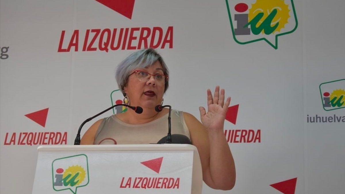 La portavoz de Adelante (Izquierda Unida-Podemos) en el Ayuntamiento de Huelva, Mónica Rossi (Foto: IU).