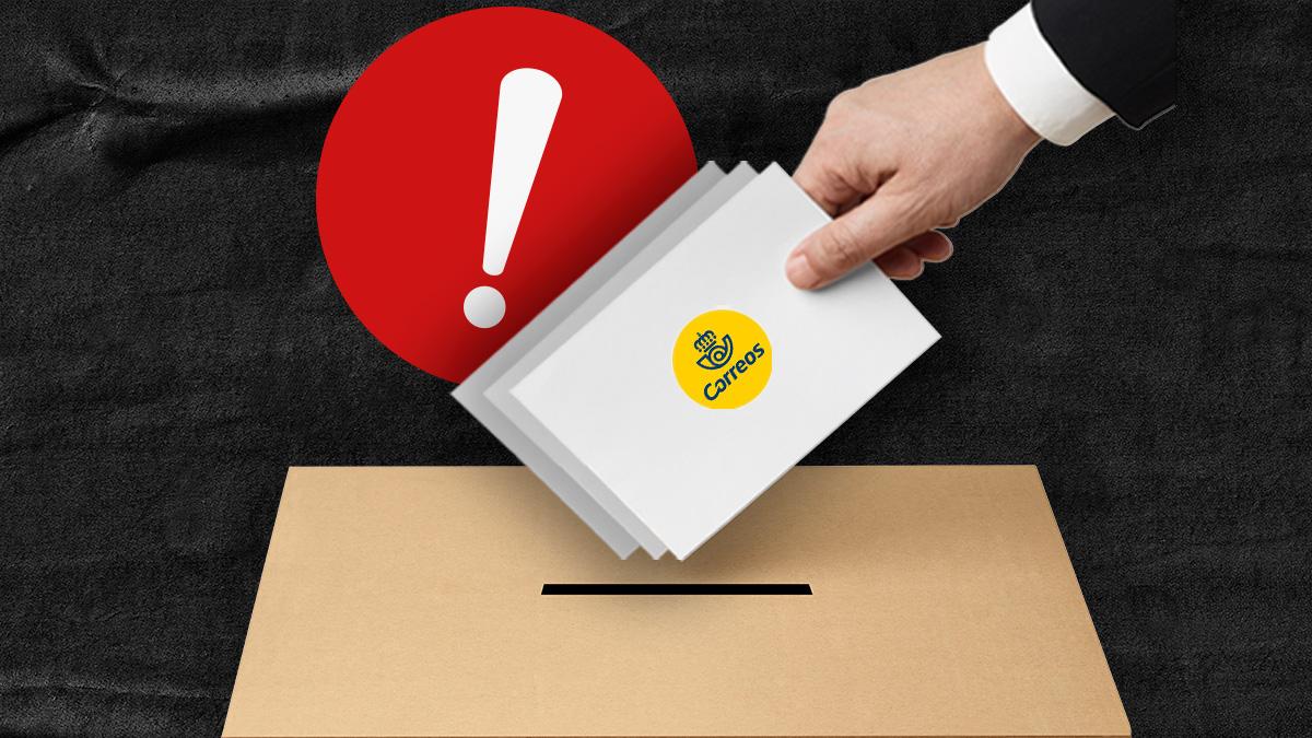 El escándalo de Correos: asignó «3 votos» a un hombre que es presidente de mesa y votará el 4M.