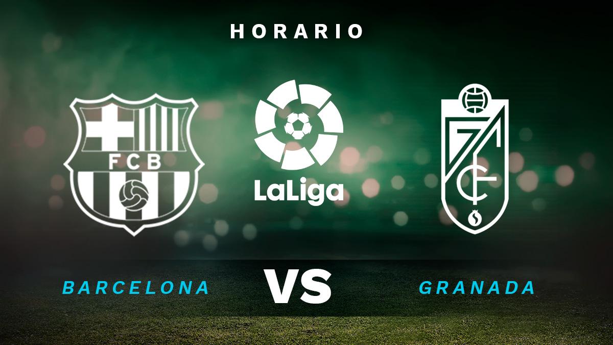 Liga Santander 2020-2021: Barcelona – Granada | Horario del partido de fútbol de la Liga Santander.