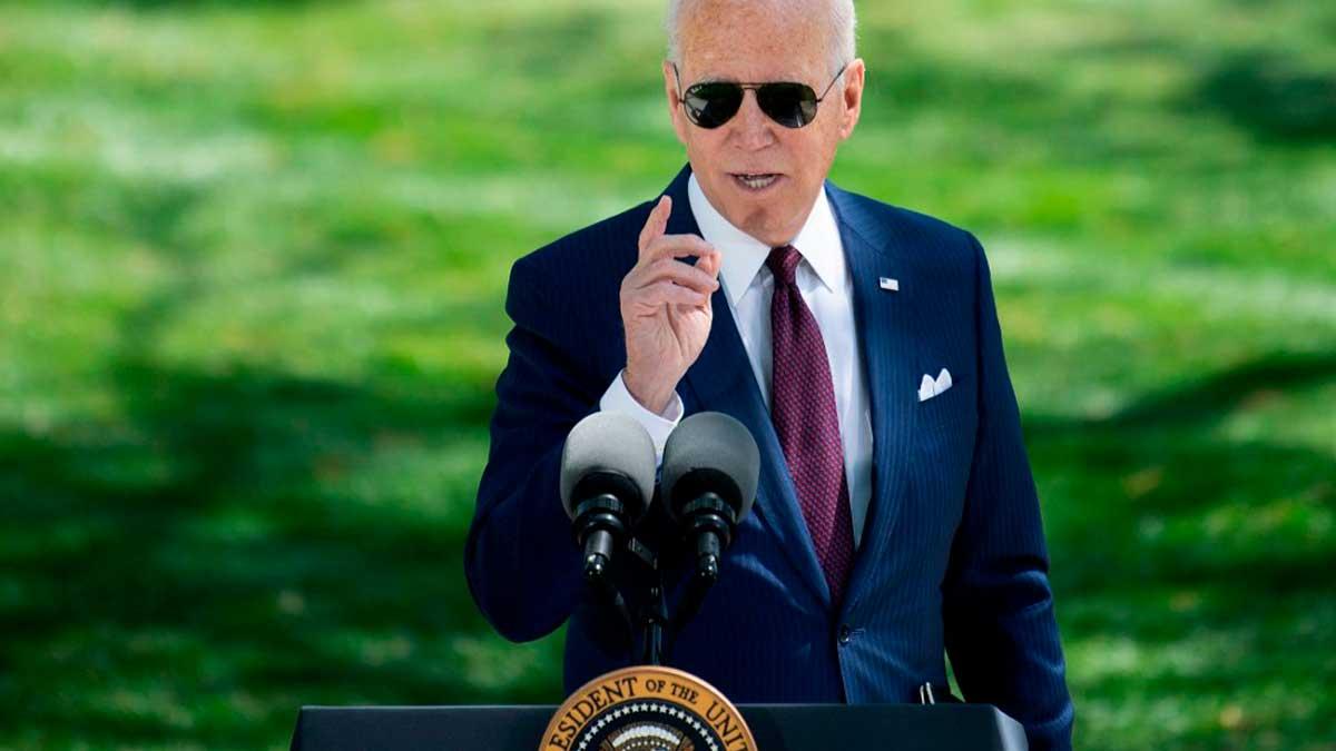 El presidente de los Estados Unidos de América, Joe Biden. Foto: AFP