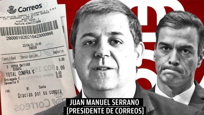 Un votante desmonta la coartada de Correos por los tickets de «votos emitidos» a usuarios que no han votado