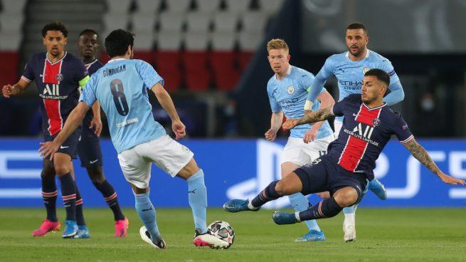 Manchester City viene de atrás y derrota a PSG en la semifinal de ida de la Champions