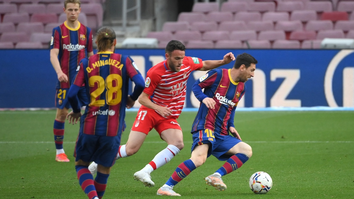 Liga Santander 2021: Barcelona – Granada | Sigue en directo el partido de Liga Santander. (AFP)