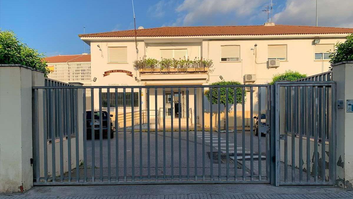 Cuartel de La Algaba (Foto: JUCIL).