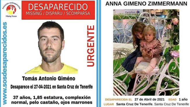 Un padre desaparece junto a sus dos hijas tras llevárselas sin autorización en Tenerife