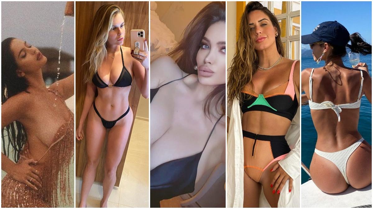 Varias de las ex novias de Neymar