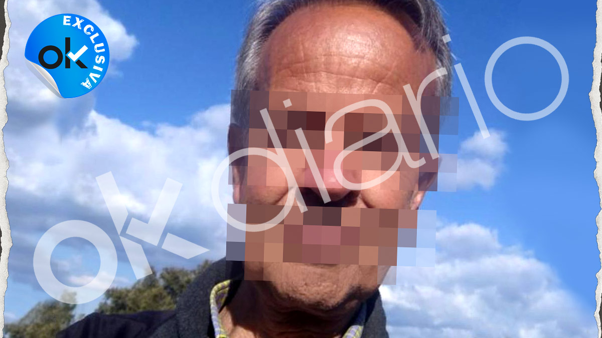 Imagen del hombre que envió una carta con una navaja a la ministra Reyes Maroto.