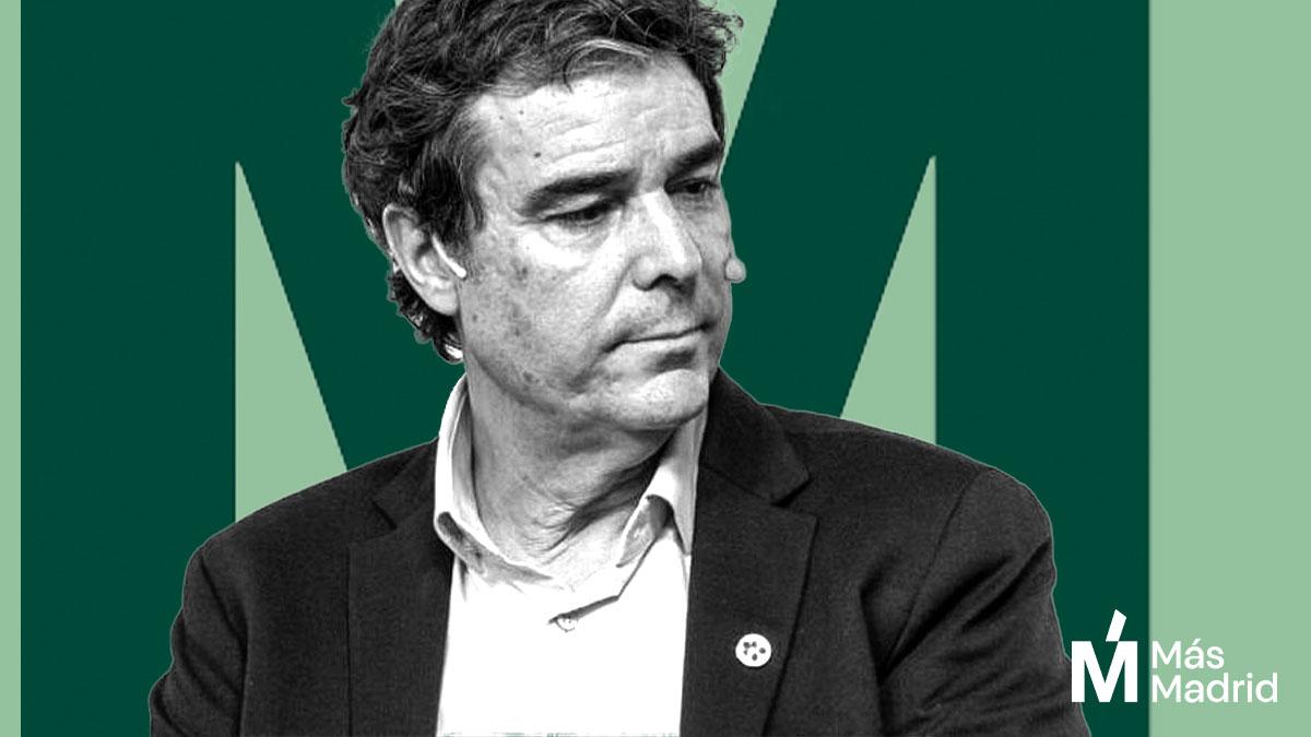 El candidato de Más Madrid Diego Figuera
