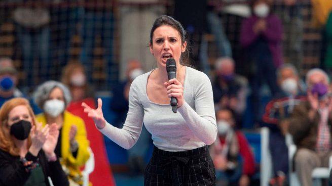 Irene Montero niñera