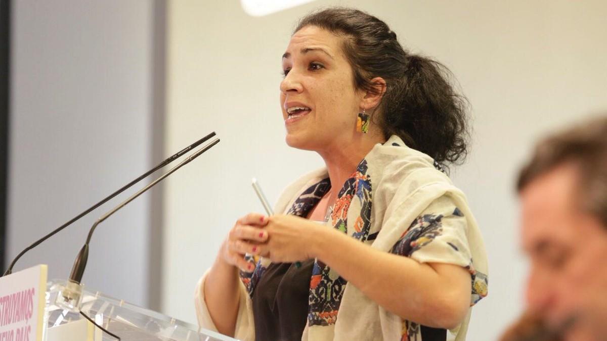 Toni Morillas, nueva alto cargo del Ministerio de Irene Montero. (Foto: PCE)