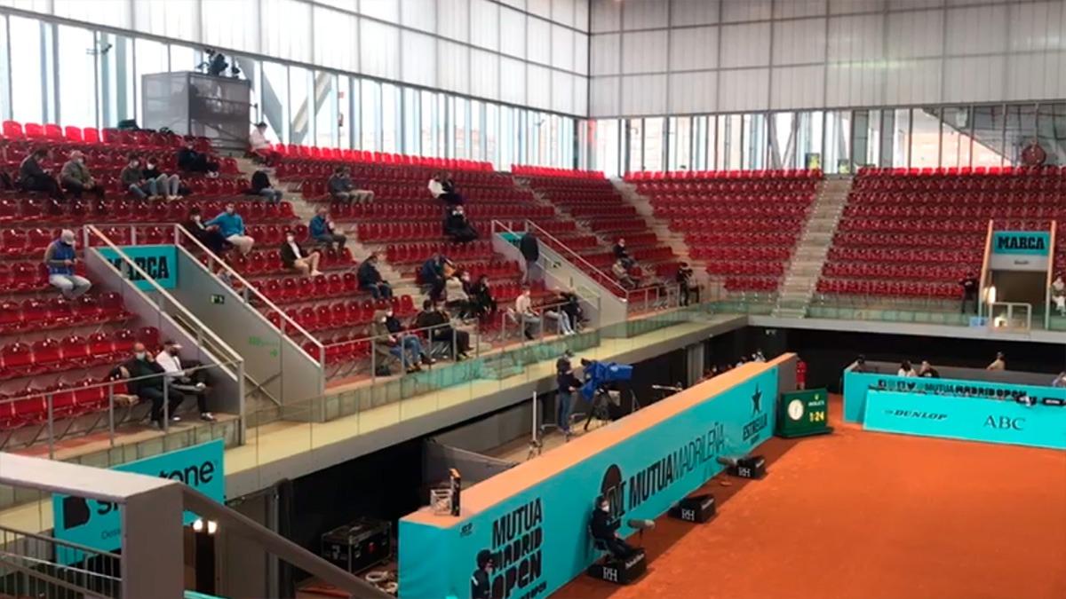 Una imagen del Mutua Madrid Open.