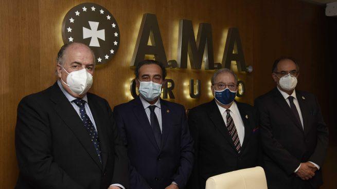 El Dr. Mariano Casado recibe el Premio Nacional del Derecho Sanitario patrocinado por la Fundación A.M.A.