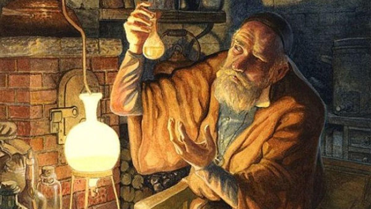 Alquimistas de la antigüedad