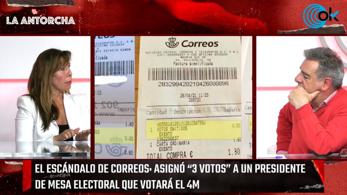 La Antorcha: Los escándalos de Correos con el voto electoral