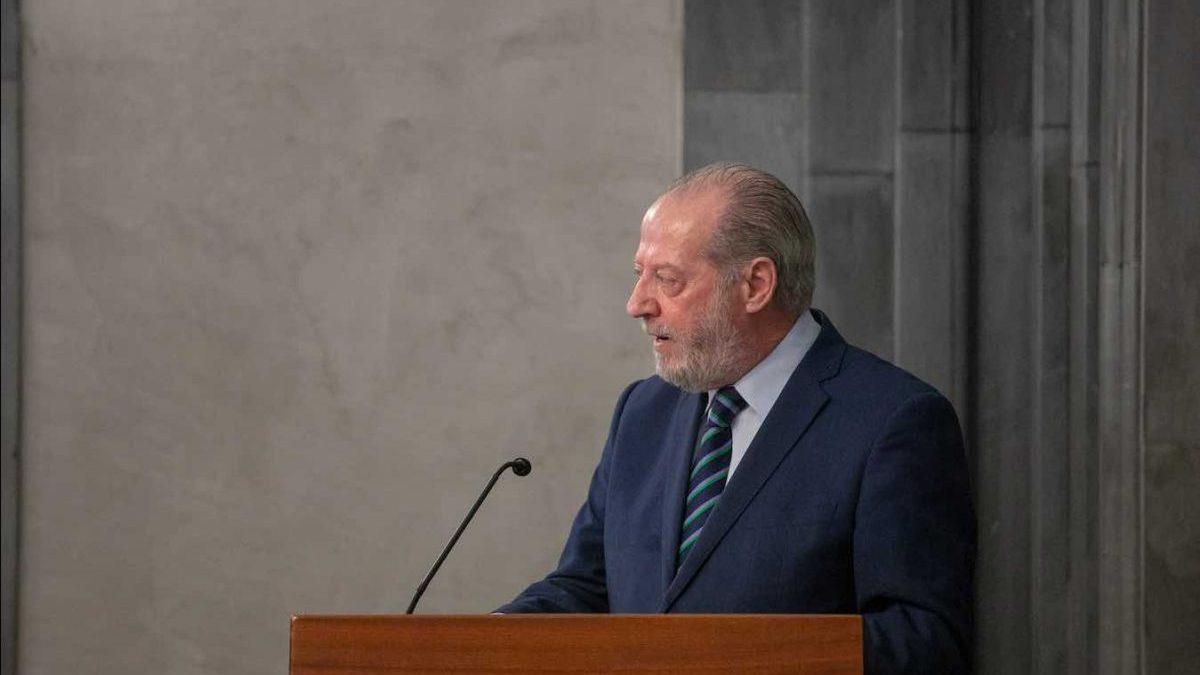 El presidente de la Federación Andaluza de Municipios y Provincias, Fernando Rodríguez Villalobos (Foto: FAMP).