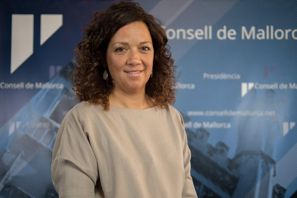 Catalina Cladera, presidenta del Consell de Mallorca.
