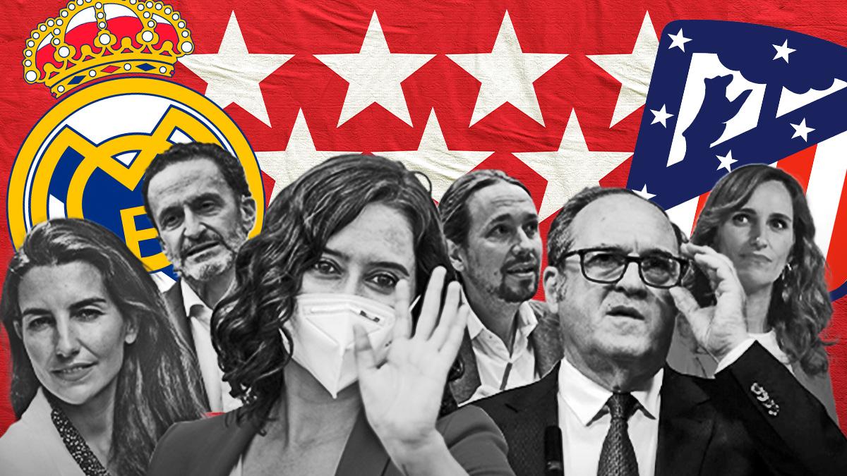 ¿De qué equipo son los candidatos a la presidencia de la Comunidad de Madrid?