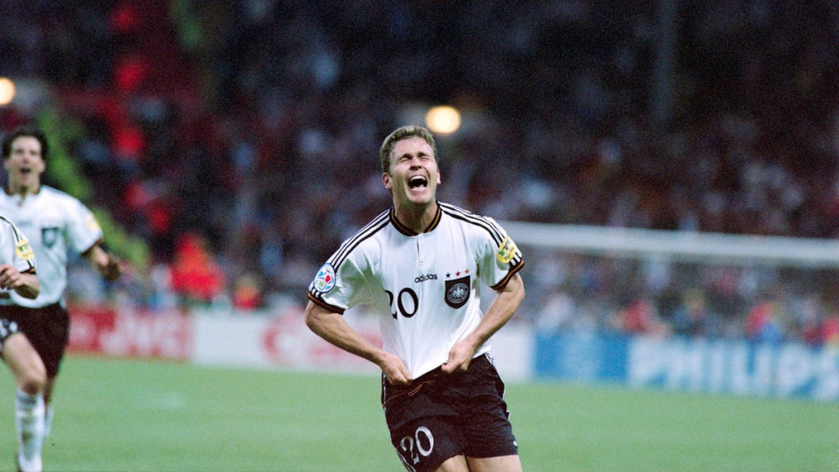 Oliver Bierhoff, primer jugador en conseguir el Gol de Oro