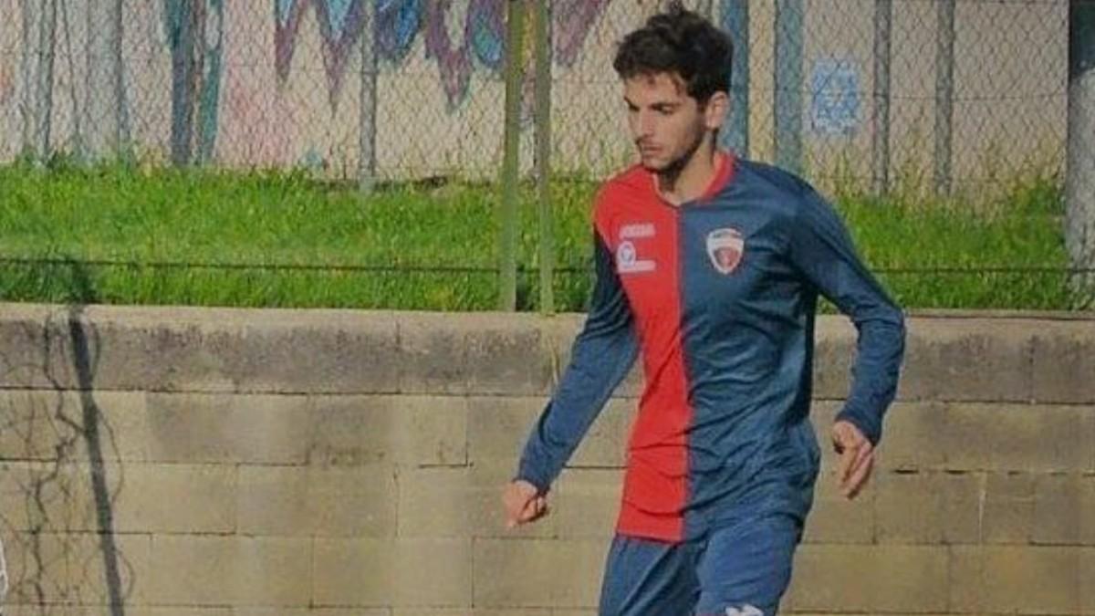 Samuele De Paoli, durante un partido. (Redes sociales)