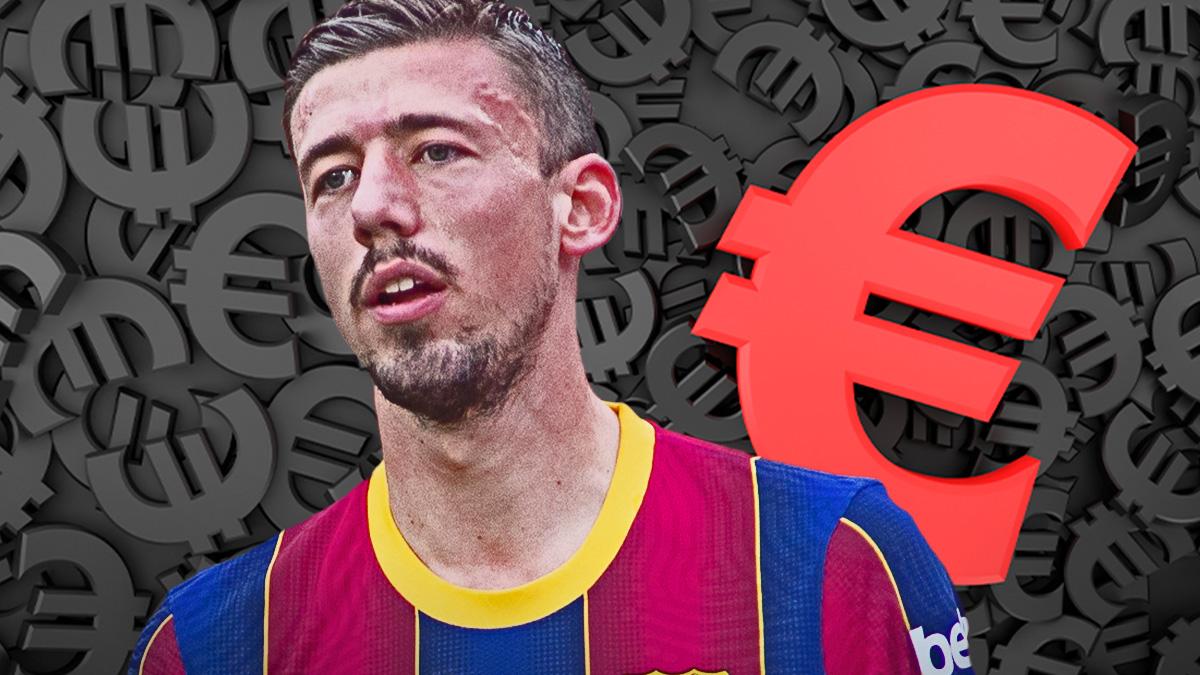 El Barcelona pone a Lenglet a la venta.