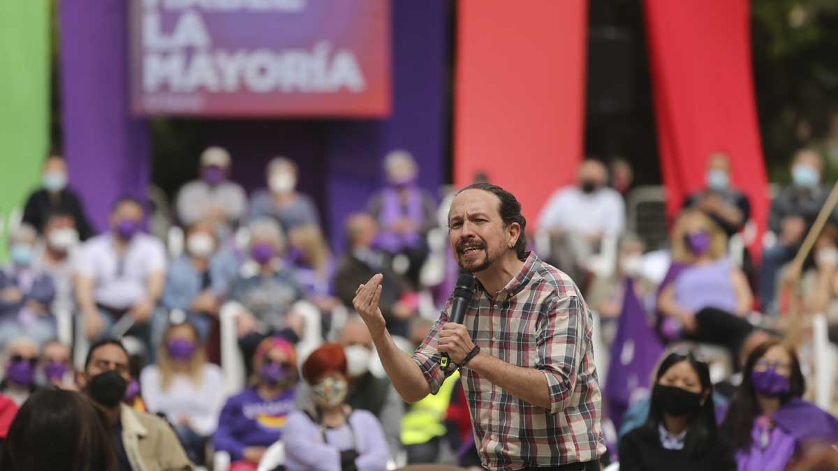 Pablo Iglesias. Foto: Europa Press