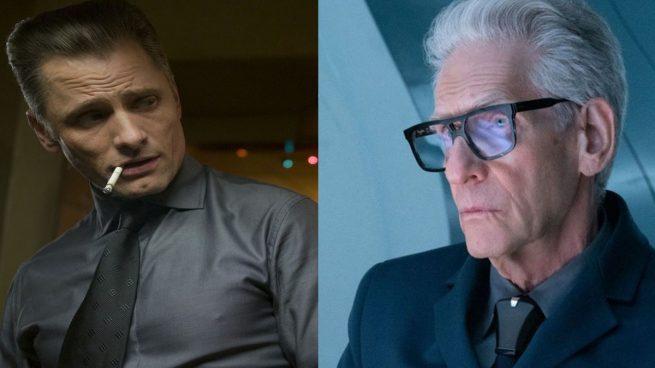 Viggo Mortensen y David Cronenberg