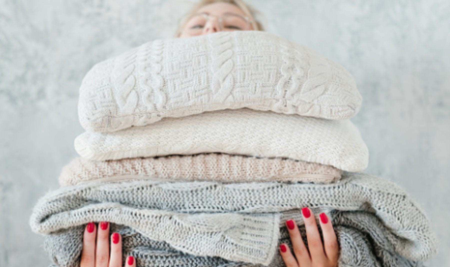 Pasos para hacer una manta con jerséis viejos paso a paso