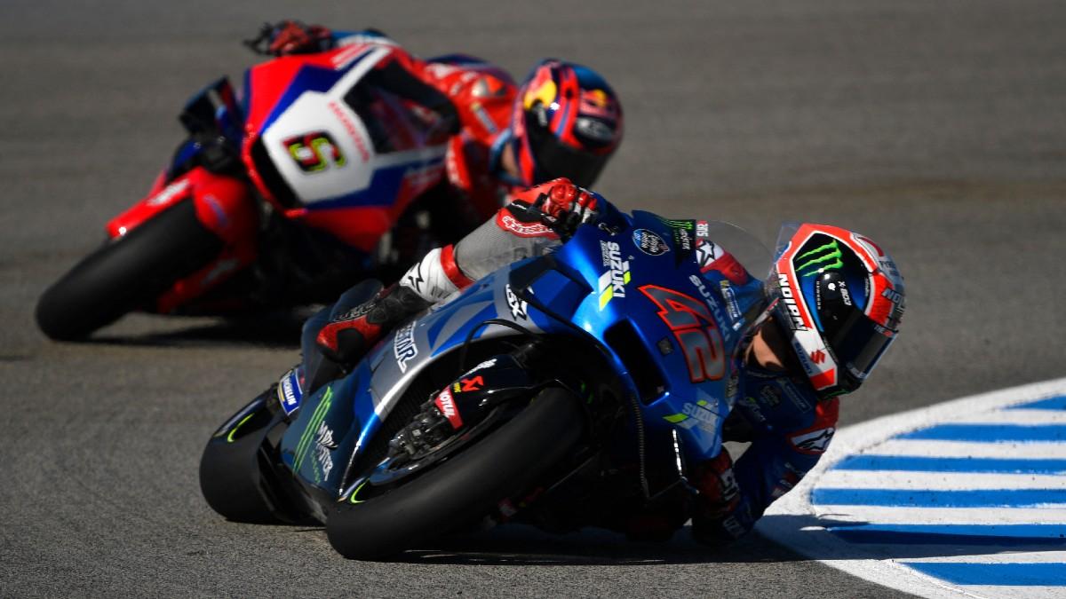 Así queda la clasificación para la parrilla de salida del Gran Premio de Jerez de MotoGP. (AFP)