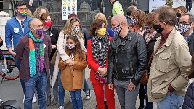 Seis ministros acuden a la manifestación del 1º de Mayo tras perder más de 600.000 empleos en un año