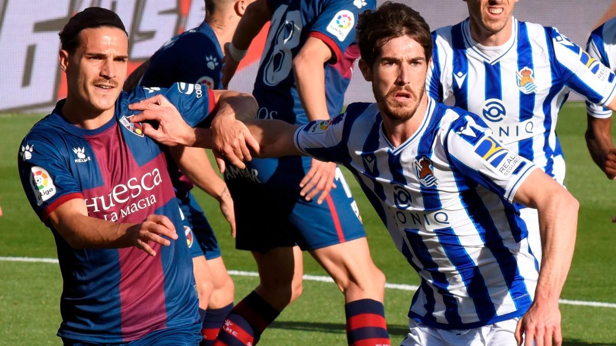 El Huesca gana a la Real Sociedad. (EFE)