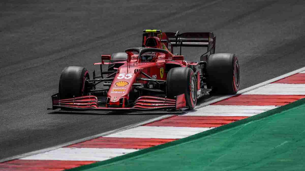 Carlos Sainz en el Gran Premio de Portugal. (AFP)