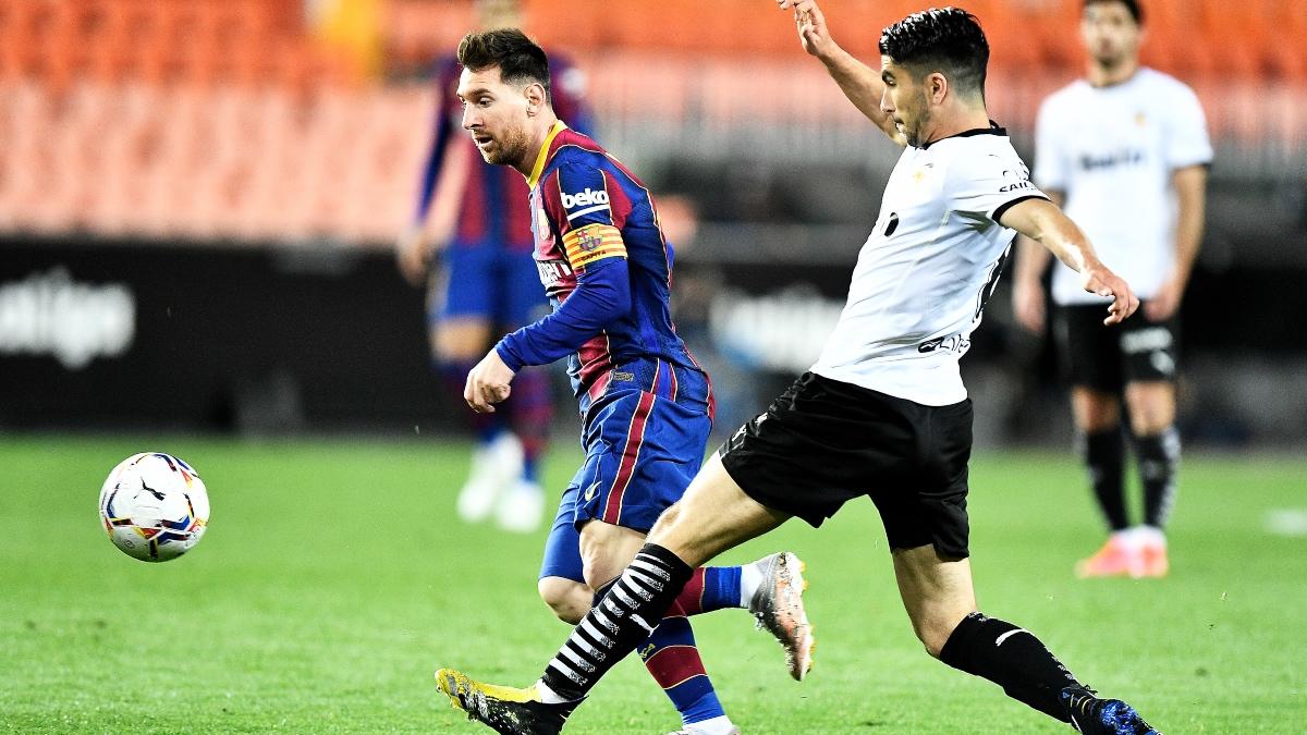 Valencia – Barcelona: el partido de la Liga Santander, en directo. (Getty)