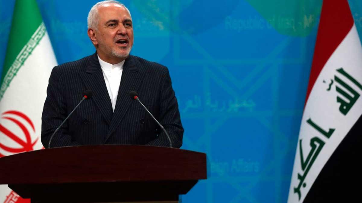 El ministro de Asuntos Exteriores de Irán, Mohammad Javad Zarif. Foto: AFP