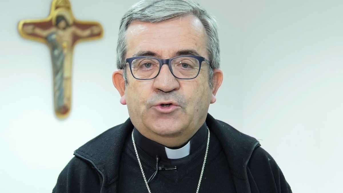 El secretario general de la Conferencia Episcopal, monseñor Argüello. Foto: EP