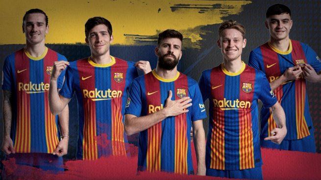 Camiseta señera barcelona