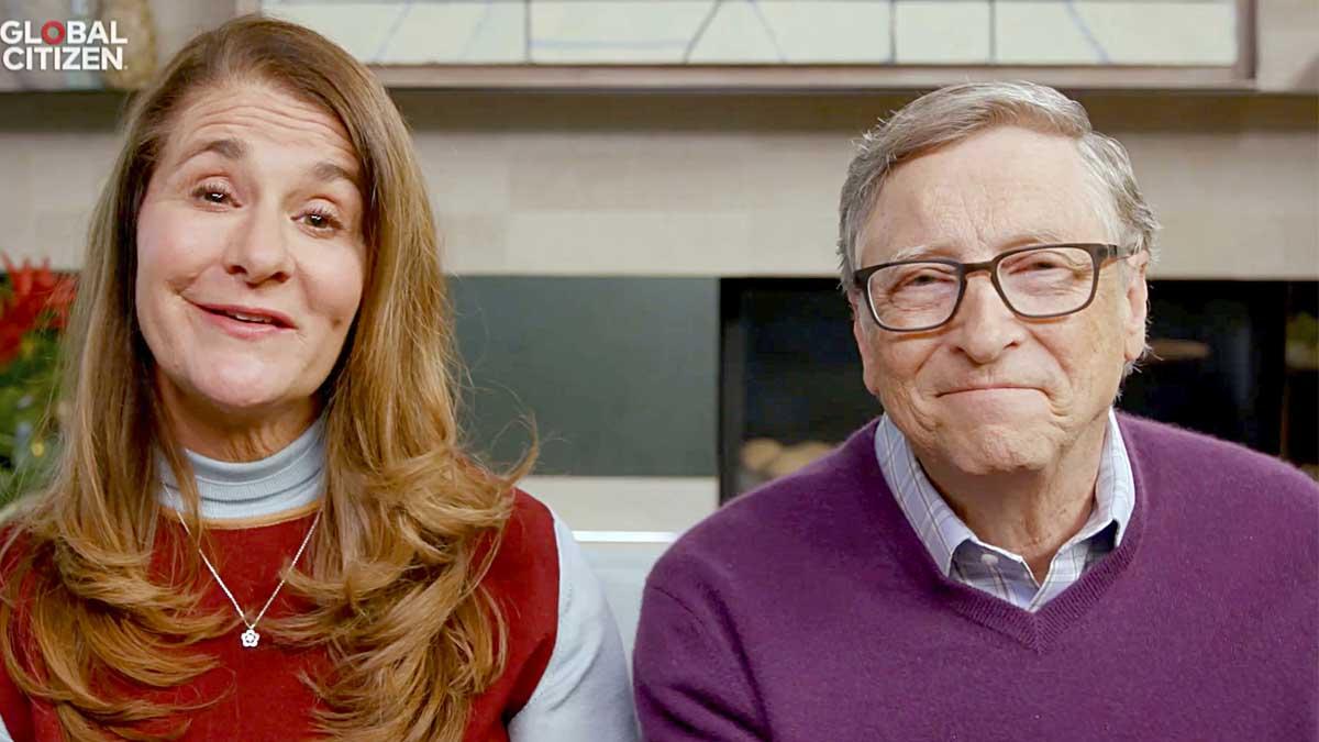 Bill y Melinda Gates. Foto: Getty